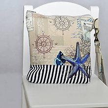Kabelky - Morské clutch - 9932292_
