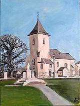 Obrazy - kostol pri Prešove - 9931844_