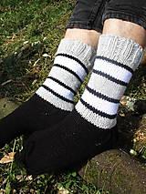- pásikavé pánske ponožky - 9933039_