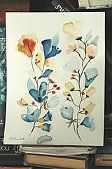 Kresby - jesenné vôňky - 9931775_