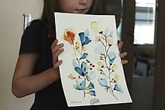 Kresby - jesenné vôňky - 9931778_