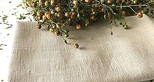 Úžitkový textil - Ľanová plachta (Ľanová plachta tmavomodrá) - 9932347_