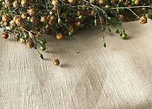 Úžitkový textil - Ľanová plachta (Ľanová plachta tmavomodrá) - 9933700_