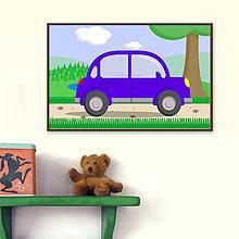 Obrázky - Autá v prírode - digitálna grafika - 9931562_
