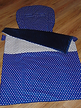 Textil - Set do kočíka - Uni podložka a deka - 9937037_