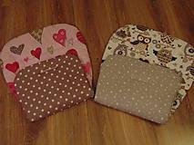 Textil - Obojstranné podložky do kočíka - na mieru - 9937145_
