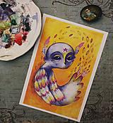 Grafika - Karolko vtáčik - 9937129_