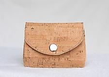 Peňaženky - Korková peňaženka - 9936856_