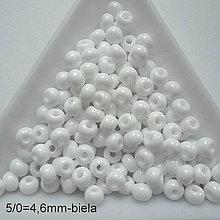 Korálky - Rokajl 5/0 PRECIOSA 4,6mm-10g - 9935576_