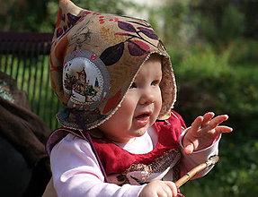 """Detské čiapky - """"Sny spících stromů"""", skřítkočapka/beránek dětská - 9936954_"""