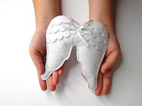 Dekorácie - Anjelské krídla - 9935112_
