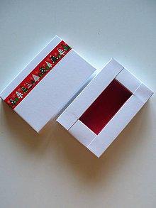 Krabičky - vianočná krabička na Usb- autorský model - 9935880_