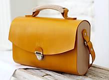 Kabelky - Kabelka na rameno HANDY BAG YELLOW - 9935745_