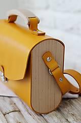 Kabelky - Kabelka na rameno HANDY BAG YELLOW - 9935752_