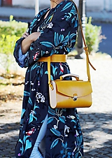 Kabelky - Kabelka na rameno HANDY BAG YELLOW - 9936050_