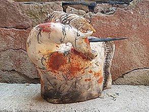 Socha - Keramika . Kůň horse - 9936465_