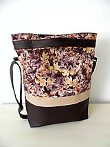 Veľké tašky - Kabelka Lístie - 9934879_