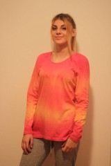Tričká - Veselé batikované tričko - 9938230_