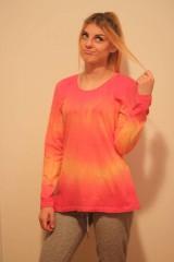 Tričká - Veselé batikované tričko - 9938231_