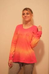 Tričká - Veselé batikované tričko - 9938232_