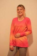 Tričká - Veselé batikované tričko - 9938235_