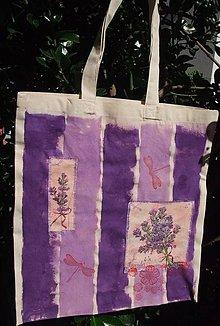 Nákupné tašky - Levanduľový nádych - 9937435_
