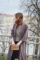 Kabáty - Oversize zavinovací kabát - 9935172_