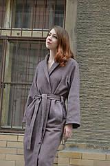 Kabáty - Oversize zavinovací kabát - 9935173_