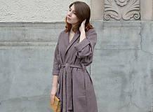 Kabáty - Oversize zavinovací kabát - 9935176_