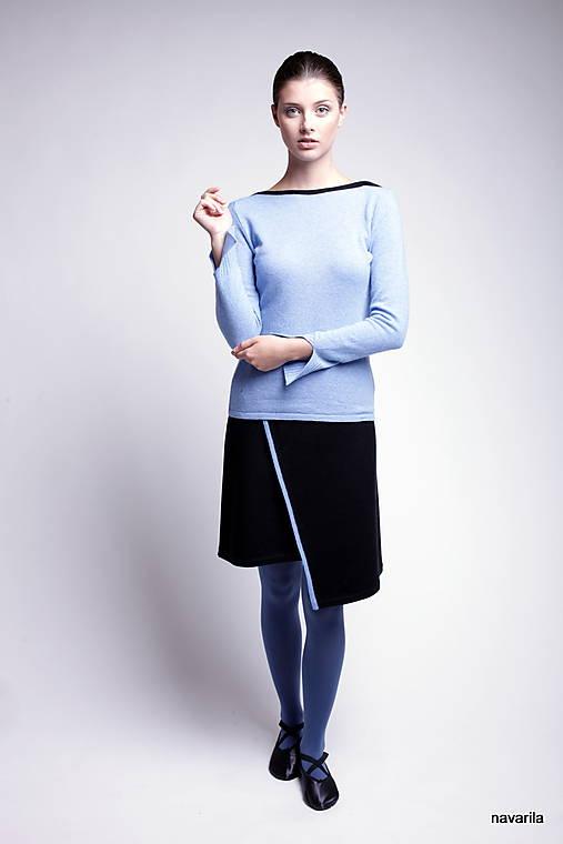 Sukne - LENY-sukně zavinovací s linkou napříč - 9936944_