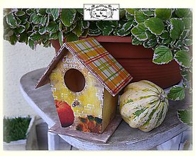 "Dekorácie - Dekoračny domček ""Jesen"" :) - 9937192_"