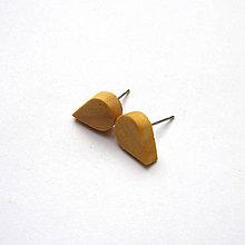 Náušnice - Jabloňové mini slzičky - 9937518_