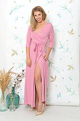 Šaty - Dlhé šaty Polly - možno i v barvách - 9935306_