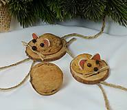 - Vianočné ozdoby myšky - 9936725_