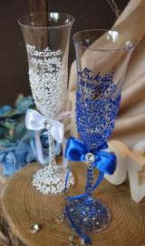 Nádoby - Svadobné poháre - 8685466_
