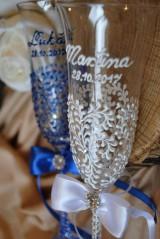 Nádoby - Svadobné poháre - 8685478_