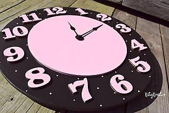 Hodiny - dievčenské hodiny - 9938796_