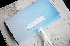 Papiernictvo - Scrapbook obálka na peniaze - elegantná - 9939632_