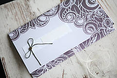 Papiernictvo - Scrapbook obálka na peniaze - ornament - 9939641_