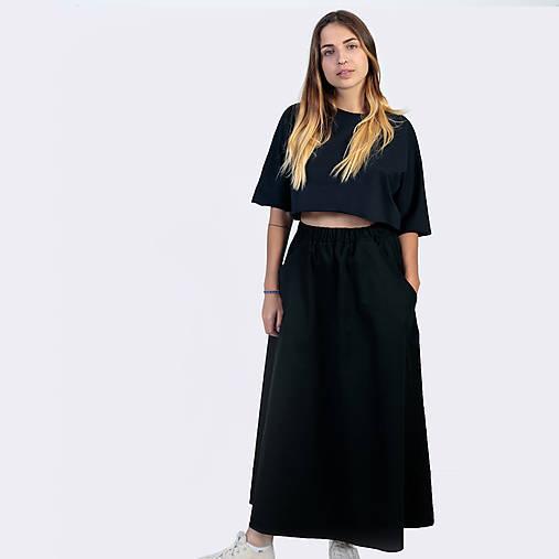 Dlhá sukňa Black