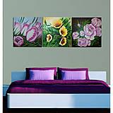 Obrazy - Kytica tulipánov - 9939629_