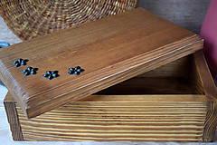 Krabičky - Truhlička, šperkovnica - 9939250_