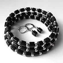Sady šperkov - Kockovaný set - 9942346_