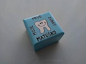 Krabičky - Krabička na prvé zúbky - 9939008_