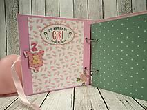 Papiernictvo - Girl fotoalbum - 9939892_