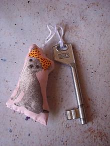 Kľúčenky - Čivava! .. v ružovej - 9939260_