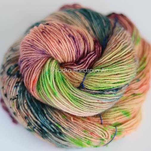 Life, don´t talk to me about life - ručne farbená vlna