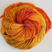Galantéria - HEART OF GOLD - ručne farbená vlna - 9941903_