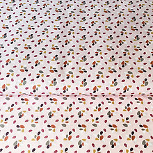 Textil - ružové lupienky; 100 % bavlna Francúzsko, šírka 150 cm - 9938618_