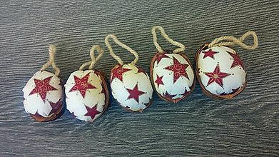 Dekorácie - Vianocna dekoracia / ..cervene hviezdy !!AKCIA!! z 0,60 na 0,49 - 9940970_